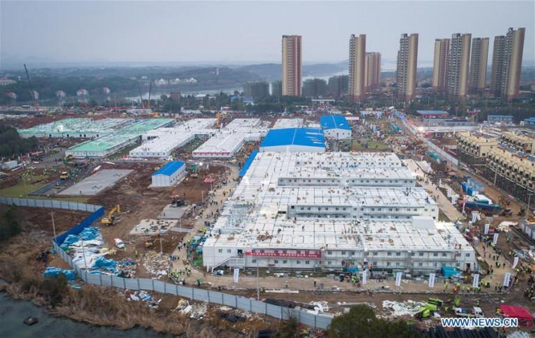 thiết kế kiến trúc xây dựng - Hỏa thần sơn có quy mô 1.000 giường bệnh