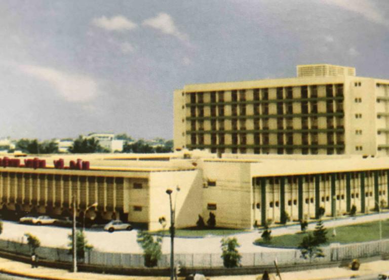 Hình 4. Bệnh viên Vì dân (1974), KTS Trần Đình Quyền thiết kế