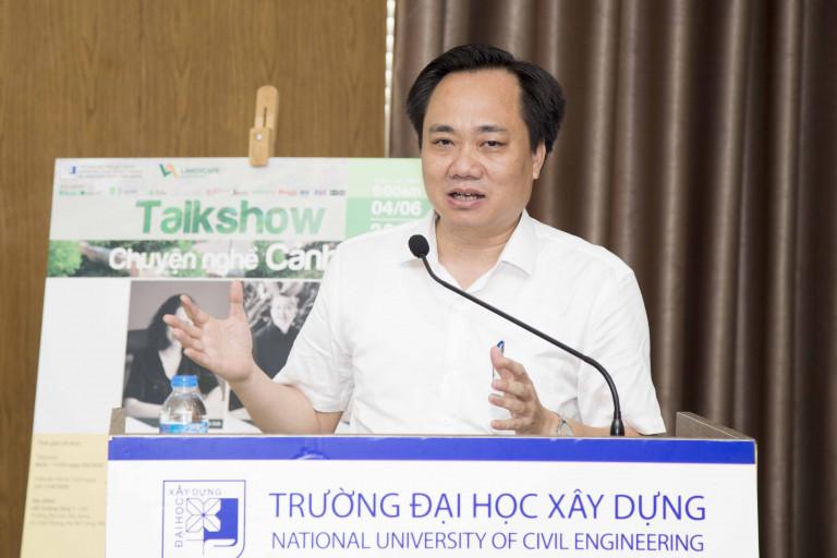 PGS.TS Phạm Xuân Anh, Phó Hiệu trưởng trường Đại học Xây dựng