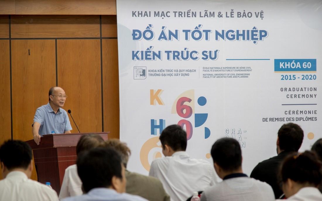 Phát biểu của GS.TS. Nguyễn Quốc Thông, PCT Hội KTSVN
