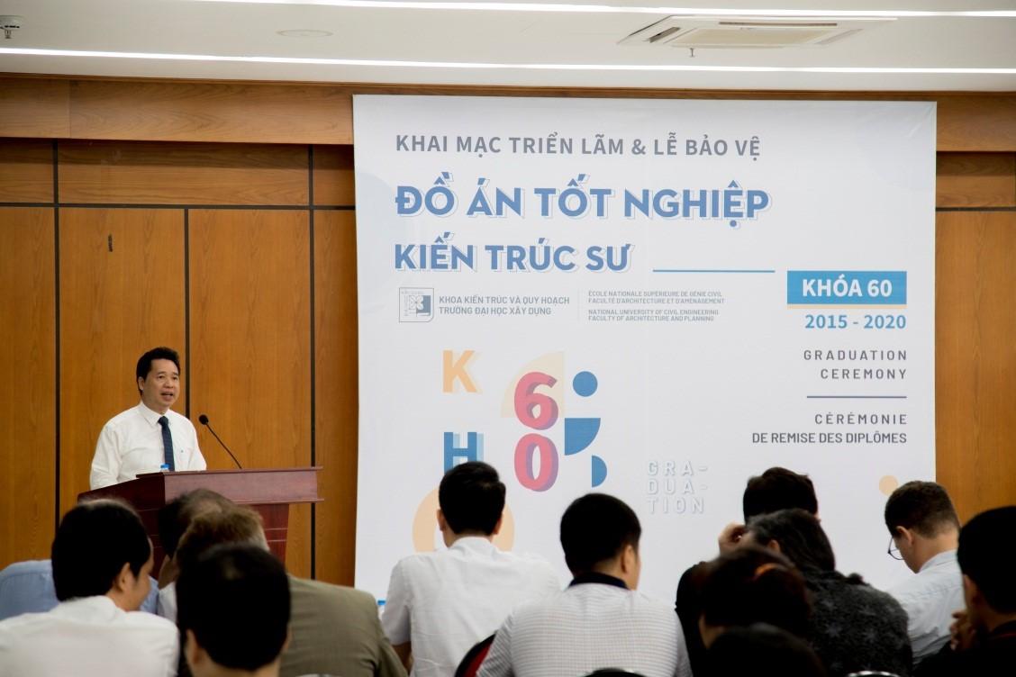 Phát biểu của Trưởng Khoa Kiến trúc & Quy hoạch – TS. KTS Nguyễn Cao Lãnh