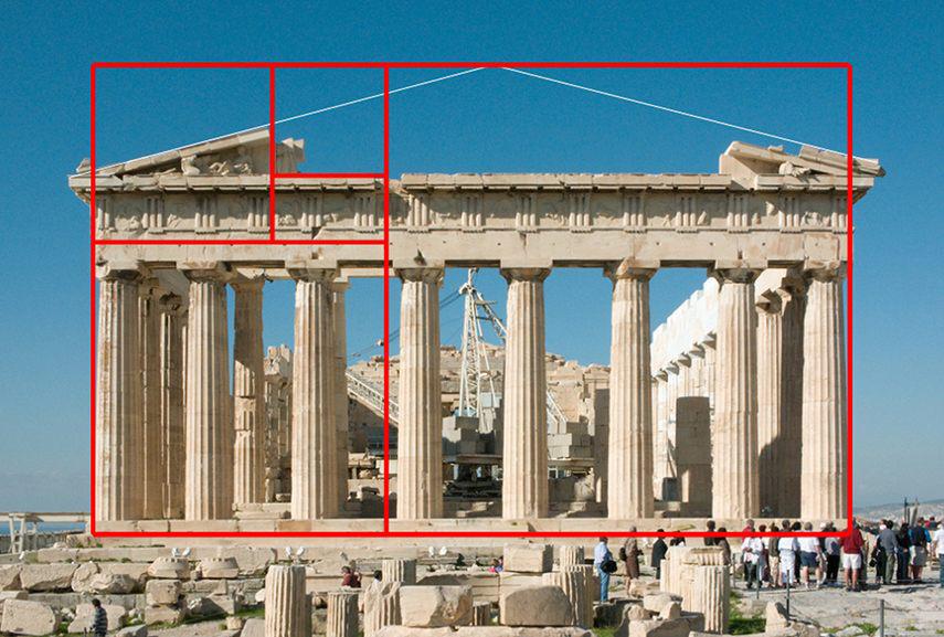 Đền Parthenon – mẫu mực của diễn giải thị cảm