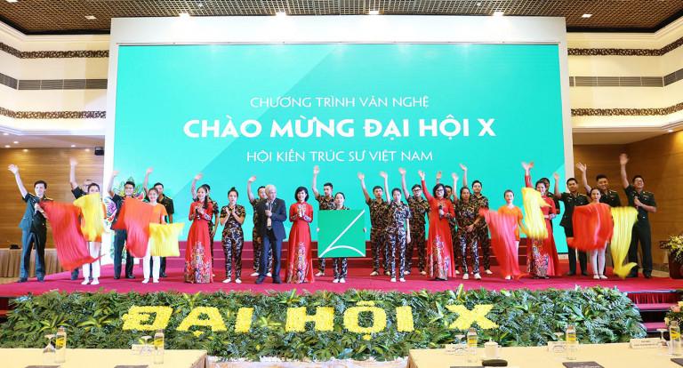 Đại hội X Hội KTS Việt Nam: Đoàn kết – Sáng tạo – Trách nhiệm