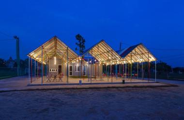 Thiết kế: Đoàn Thanh Hà, Trần Ngọc Phương, Chử Kim Thịnh, Chu Văn Đông, Nguyễn Hải Huệ, Hoàng Hữu Nam - H&P Architects