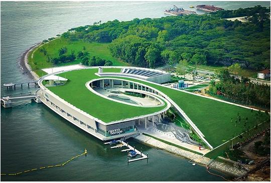Hình 1: Hồ chứa nước Bar Barrage của Singapore (Nguồn Internet)