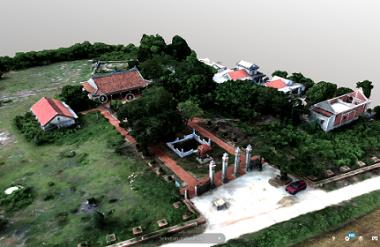 Hình 1: Tổng thể đình làng Cổ Lão, Huế (nguồn ảnh: Nguyễn Quang Huy)