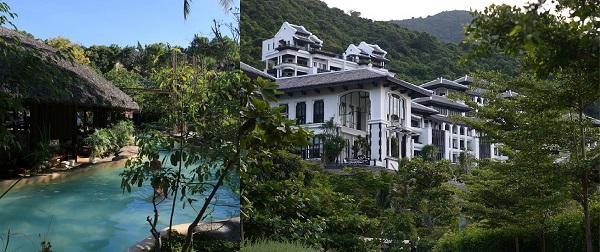 Hình thức kiến trúc mang hơi thở nhiệt đới, hòa mình vào những khoảng bất tận của cây xanh, mặt nước.