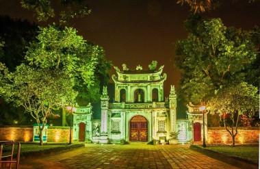 Văn Miếu Quốc Tử Giám - Ảnh:KTS Nguyễn Phú Đức