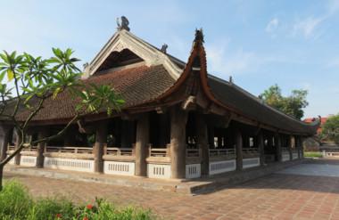 Đình Chu Quyến. Không gian Văn hóa - Kiến trúc lâu đời của ngôi đình được bảo tồn và phát huy trong cuộc sống đương đại