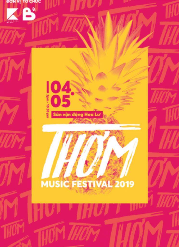 Thơm Music Festival 2019 - Một lễ hội âm nhạc quy tụ nhiều nghệ sĩ âm nhạc indie tại Việt Nam và trên thế giới, trở thành một sân chơi mới cho giới trẻ Nguồn: https://yeah1music.net/vpop/wef.html?fbclid=IwAR1R7YFqHVZyjvJ7A3vVNqc4R-5F7K8n-juPduZ_Yn9AArQ-PhXmbeC1O0A Nguồn: https://www.facebook.com/thommusicfestival/