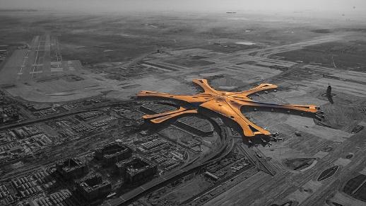 Công trình Olympic 2008 ở Bắc Kinh sân bay quốc tế Đại Hưng ở Bắc Kinh có nên xem là Kiến trúc con vịt? (giấy phép CC) (Ảnh: Wang Zhitong)