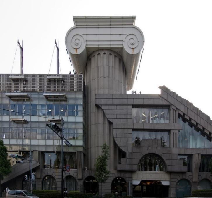 Phong cách Camp - M2 building, Tokyo, KTS Kengo Kuma (Ảnh: Wiiii, giấy phép CC)