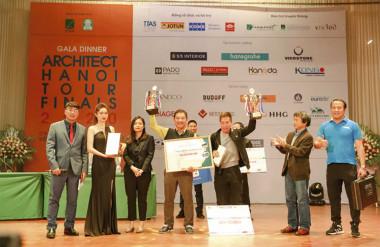 Đội vô địch Tennis Cup cho Nguyễn Bá Hiển và Nguyễn Tuấn Hùng