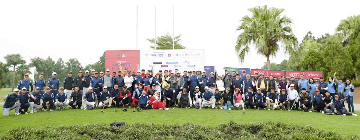 Khai mạc giải Golf tại sân Golf Đầm Vạc