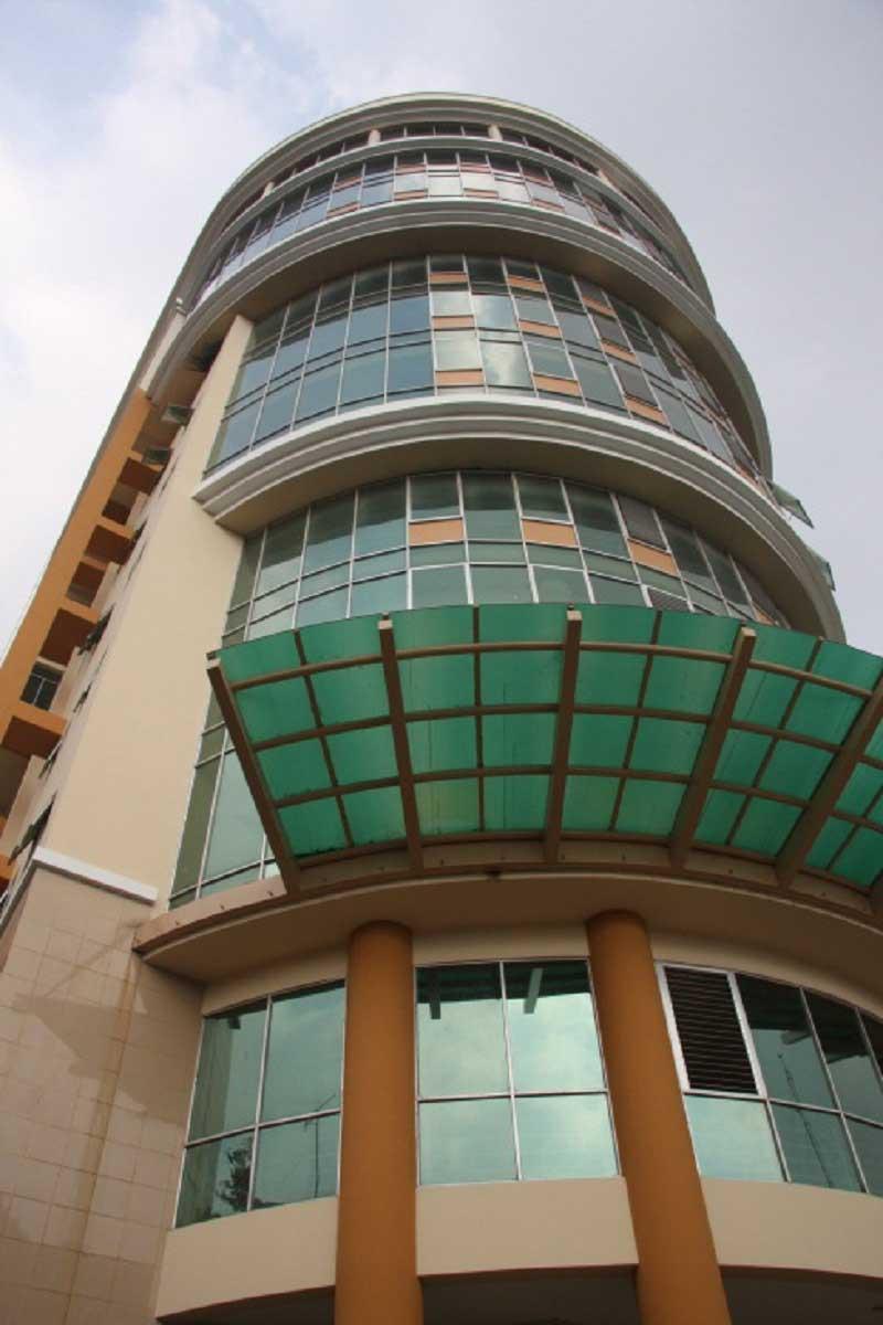 Nhà làm việc – Hiệu bộ - Trường Đại học Sư phạm TP.HCM (2004)