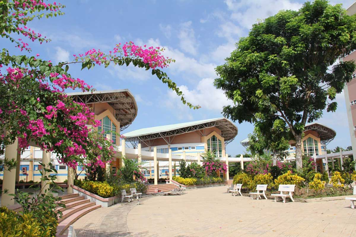 Cụm Giảng đường lớn - Đại học Tiền Giang (2015)