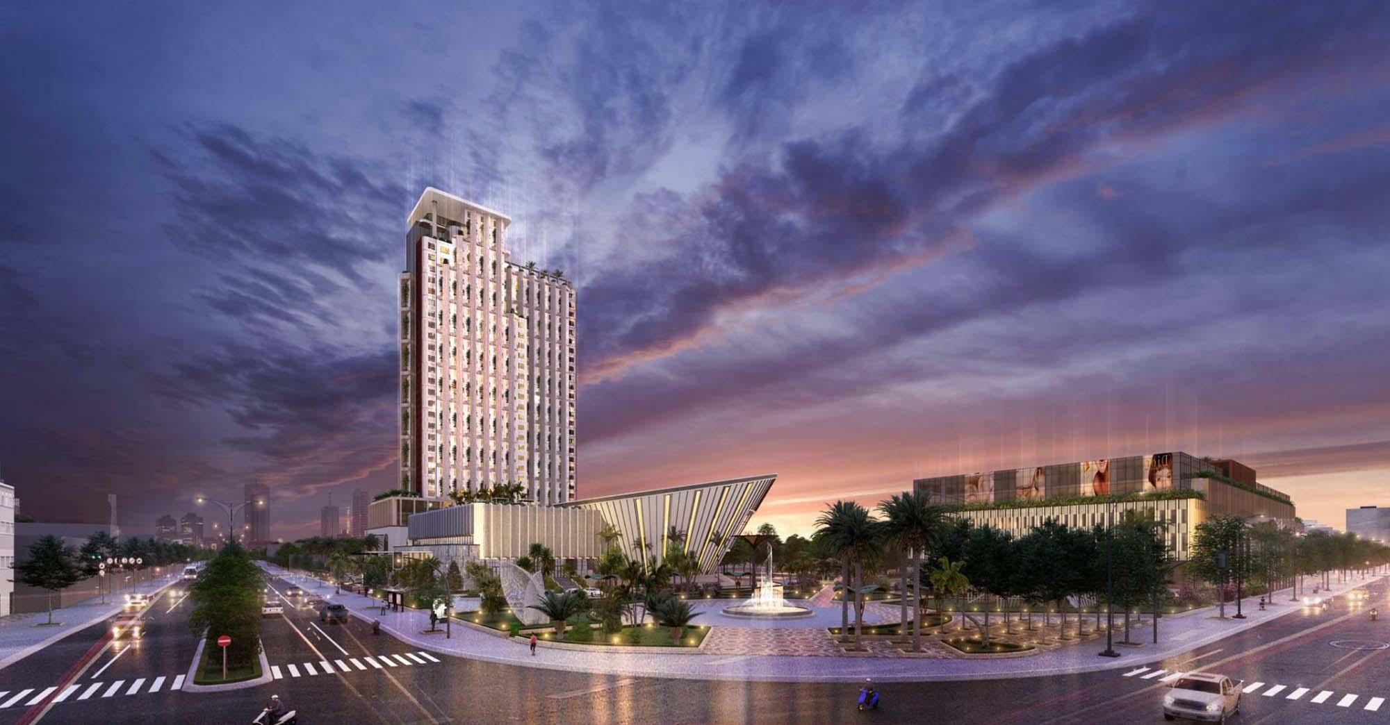 Tổ hợp khách sạn 5* Hùng Vương Complex (TP Huế)