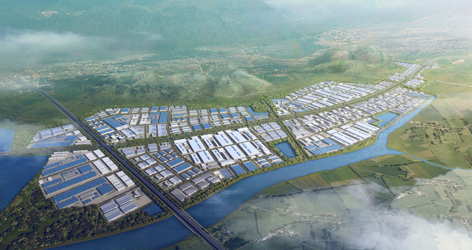 Thiết kế dự án khu công nghiệp Sông Khoai (Chủ đầu tư: Tập đoàn Amata Thái Lan)