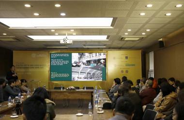 Sự kiện thu hút sự quan tâm của đông đảo các chuyên gia nghiên cứu và những người hoạt động trong lĩnh vực kiến trúc, bảo tổn, quản lý di sản, văn hóa