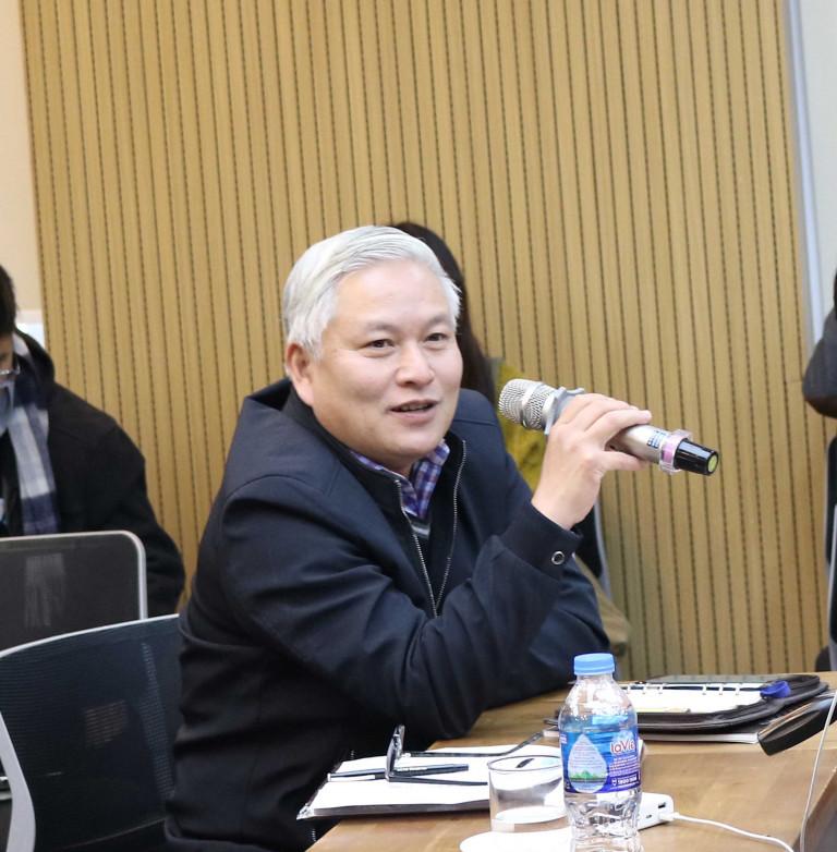 Ông Nguyễn Đức Hùng Phó Viện trưởng Viện Quy hoạch Xây dựng Hà Nội