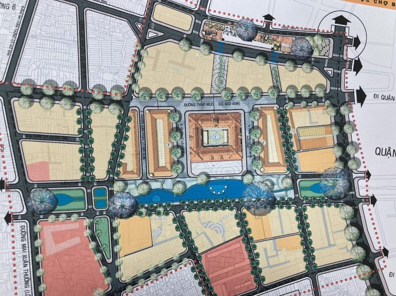 Phương án cải tạo không gian xung quanh chợ Bình Tây (HP Hình thái không gian công cộng 2020)