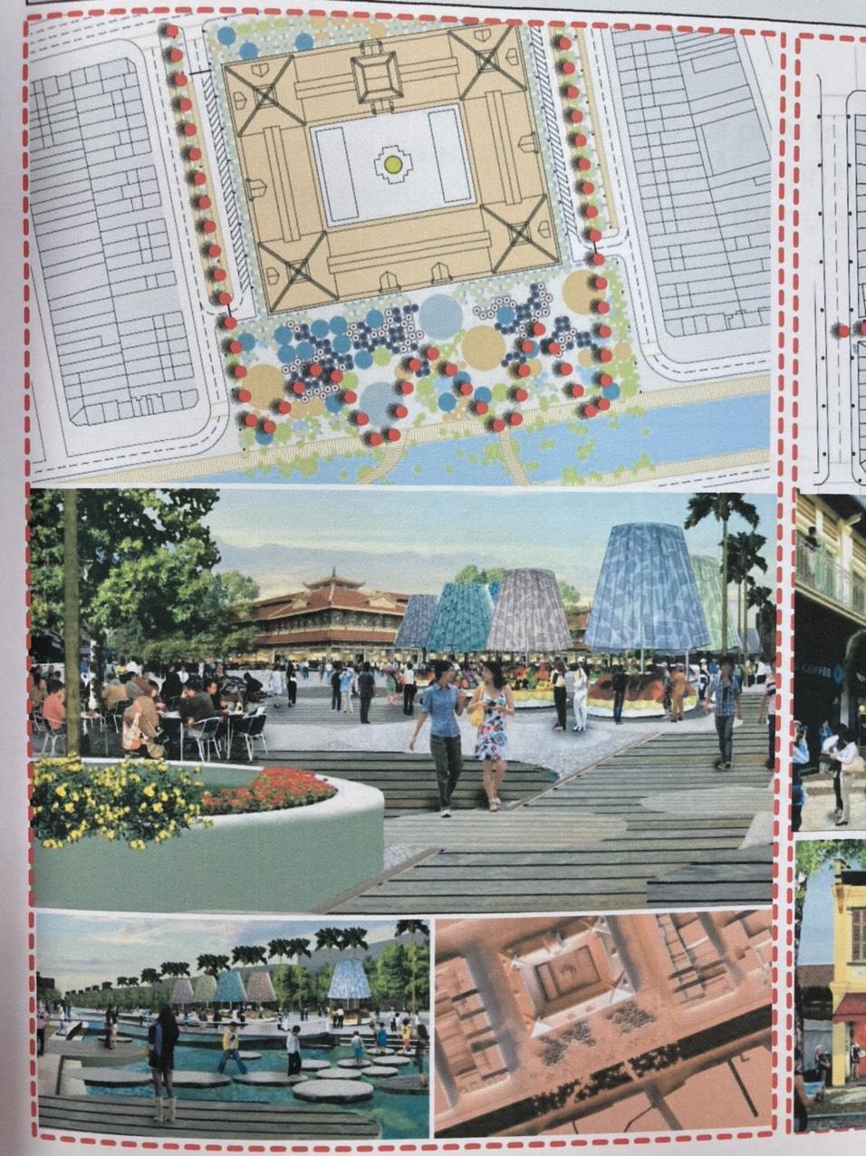 Phương án cải tạo không gian xung quanh chợ Bình Tây của DCU (Tây Ban Nha)