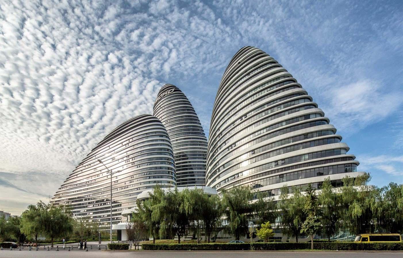 Hình 3: Wangjing SOHO, Bắc Kinh, Trung Quốc