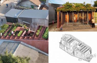 Nhà mái đỏ ở Quảng Ngãi được chọn là Dự án kiến trúc của năm (Dezeen Awards 2020)