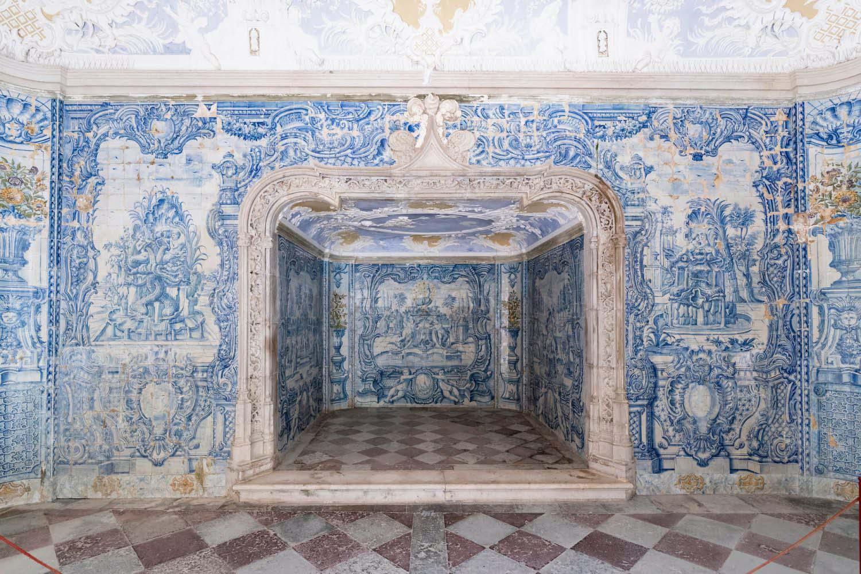 Nội thất của Cung điện Quốc gia Sintra (Ảnh: Sopotnicki / Shutterstock)
