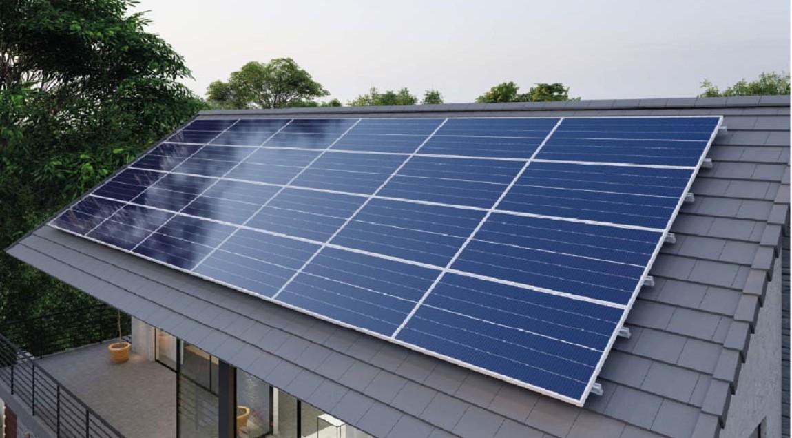 Hệ thống mái sử dụng năng lượng mặt trời của SCG (SCG's Solar Roof System) mang lại giải pháp tiết kiệm nhiên liệu cho ngôi nhà.