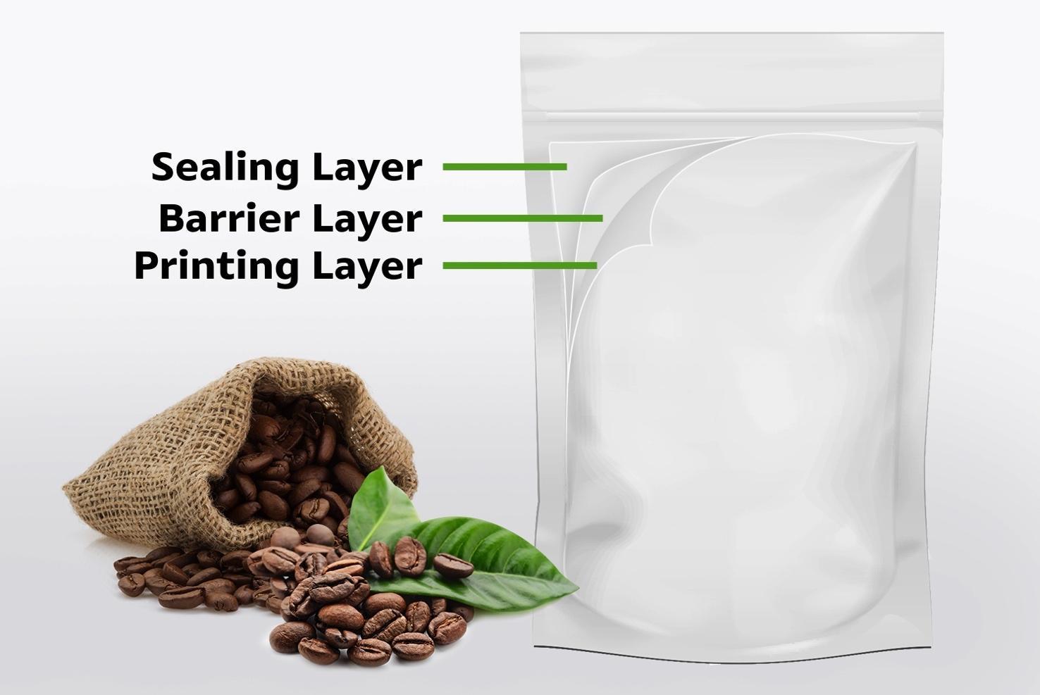 Bao bì linh hoạt R-1 gồm nhiều lớp với các đặc tính độc đáo về khả năng chống va đập cao, có thể bảo vệ vật phẩm và khả năng tái chế, thân thiện với môi trường.