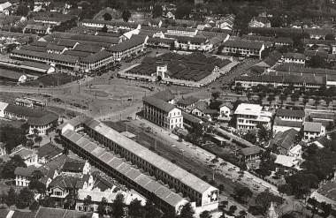 Khu Phố Chợ Bến Thành và nhà ga xe lửa Sài Gòn, bình dân và hiện đại, kết nối hiệu quả dân cư-thương mại-giao thông (ảnh tư liệu).