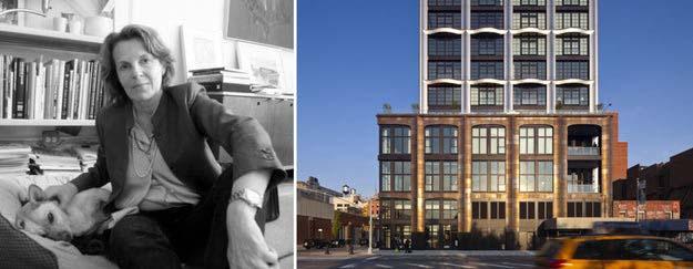 Right: 200 Eleventh Avenue, một dự án khu dân cư mới ở Thành phố New York; hình ảnh: Selldorf Architects