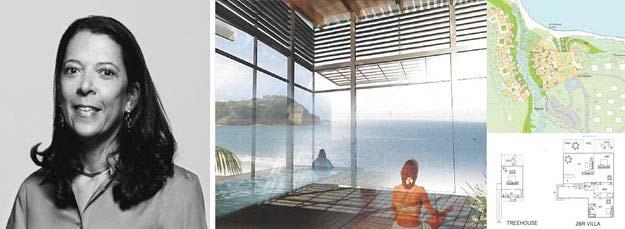 Bên phải: Khu nghỉ dưỡng 5 sao đề xuất, Punta Patilla, Cộng hòa Dominica; hình ảnh do Carlos Zapata Studio / Ehrenkrantz Eckstut & Kuhn cung cấp