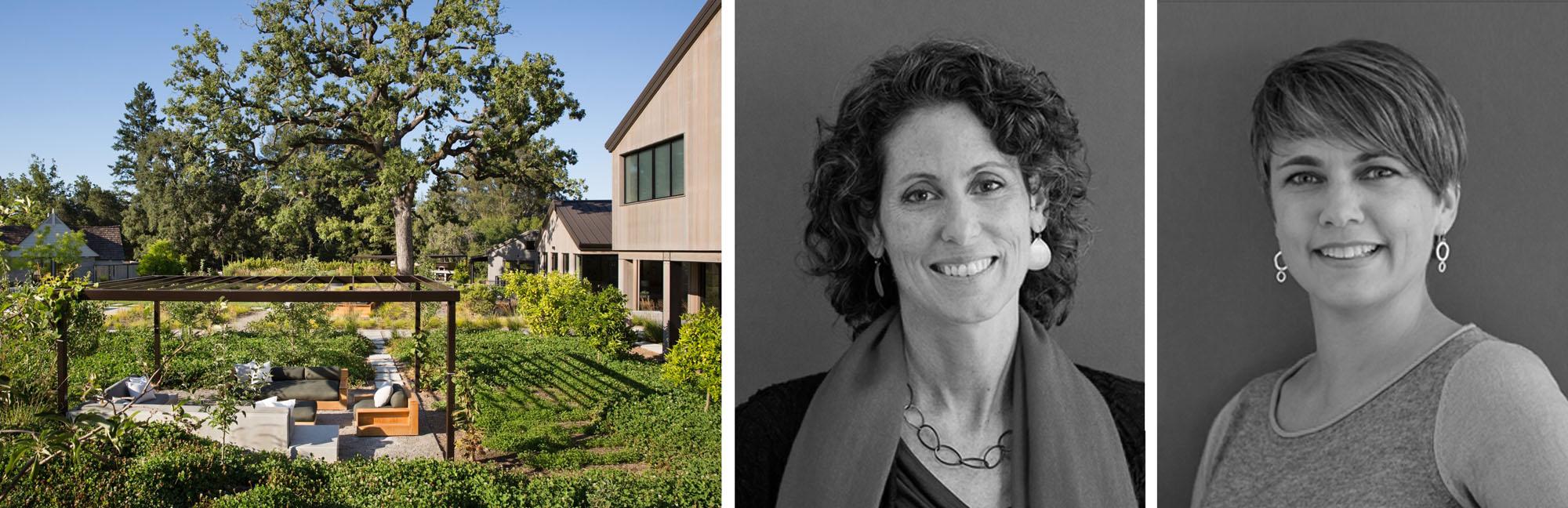 Trái: Trang trại đến Bàn ăn; Kate Stickley và Gretchen Whittier, hình ảnh: Arterra Landscape Architecture