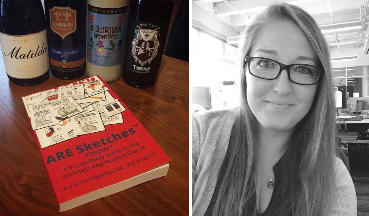 Bên trái: Là bản phác thảo Tập I; phải: Lora Teagarden