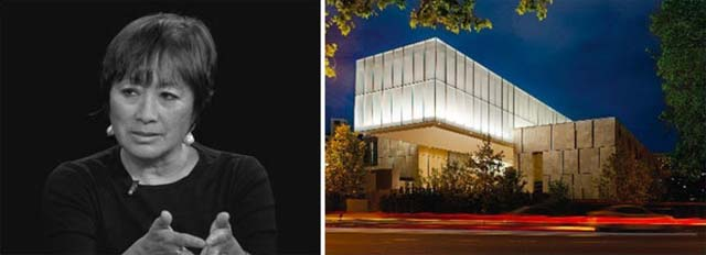 Phải: Quỹ Barnes, Philadelphia; hình ảnh qua Trường Kiến trúc và ANTIQUES Yale