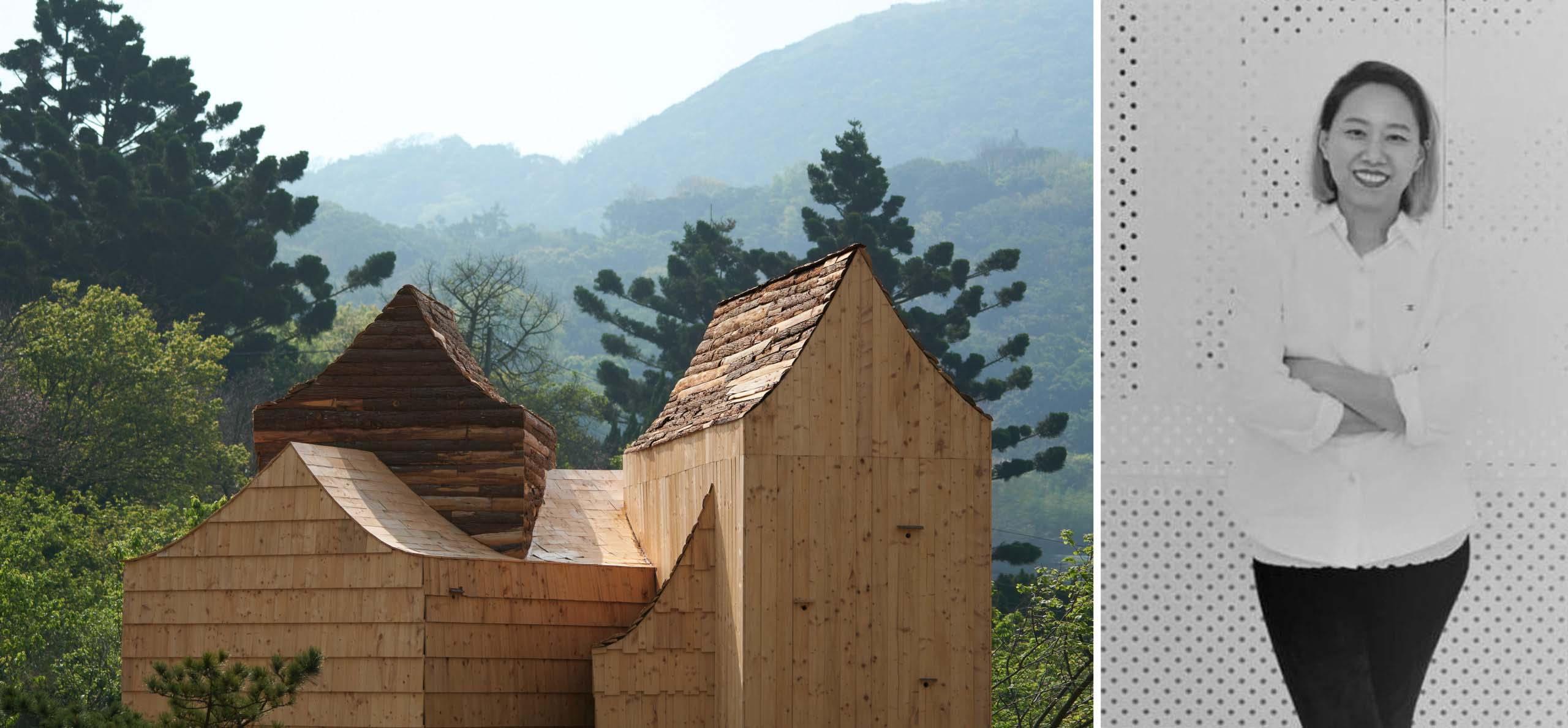 Trái: Boolean Birdhouse, Đài Loan, Người chiến thắng trong Ban giám khảo Giải thưởng A + 2020 ở hạng mục Kiến trúc + Nghệ thuật; Phải: Phoebe Wen, A'Design Awar