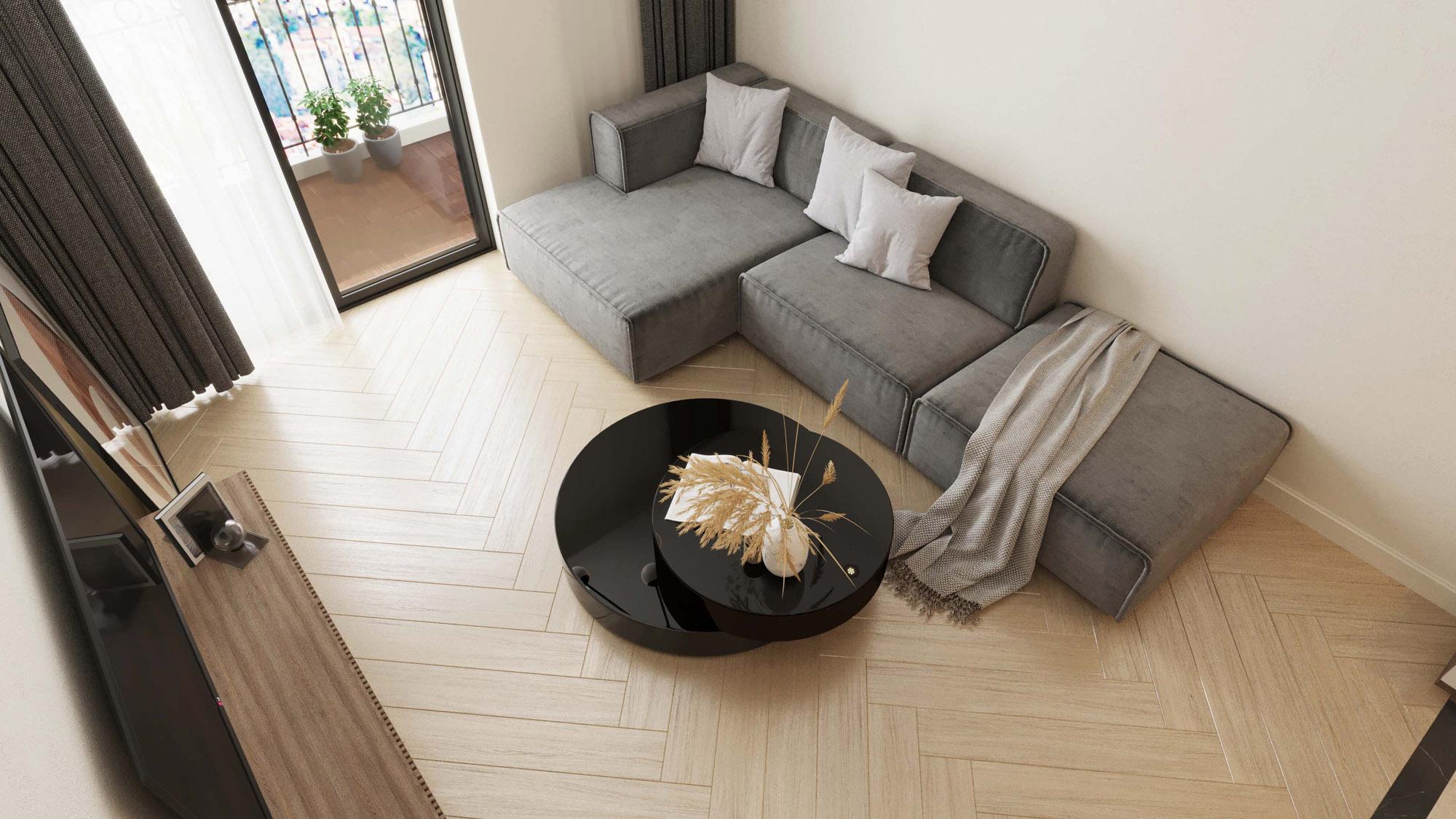 Ảnh 6: Gạch Slimtech giúp việc xây mới, cải tạo nhà ở trở nên đơn giản hơn khi không cần thay mới hệ thống nội thất, cửa ra vào