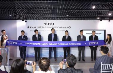 Ảnh 3: Ra mắt Showroom trưng bày và trải nghiệm đầu tiên của thương hiệu TOTO tại Hà Nội