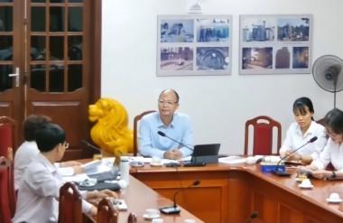 Khách mời tham dự hội thảo về phía Việt Nam