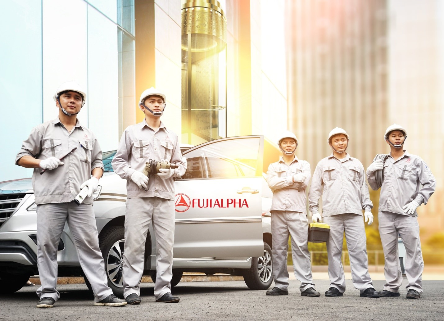 FUJIALPHA là công ty thang máy có chất lượng dịch vụ bảo trì tốt nhất trên thị trường