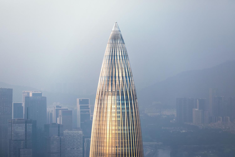 Trụ sở Trung Quốc Resources, Thâm Quyến, Trung Quốc của Kohn Pedersen Fox. Hình ảnh © Su Zhewei