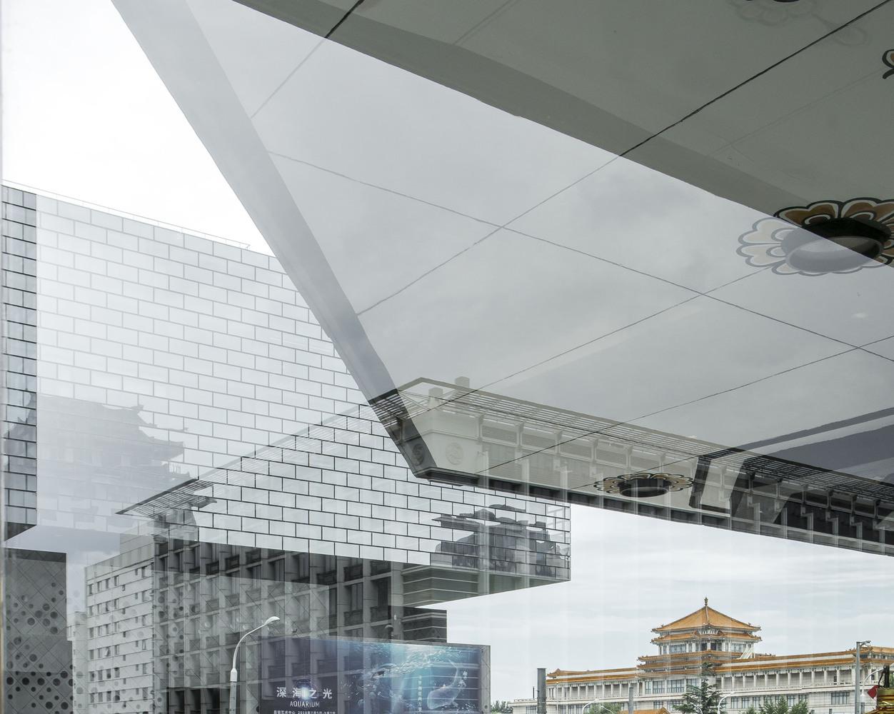 Trung tâm nghệ thuật Guardian, Bắc Kinh, Trung Quốc của Büro Ole Scheeren. Hình ảnh © Aurelien Chen