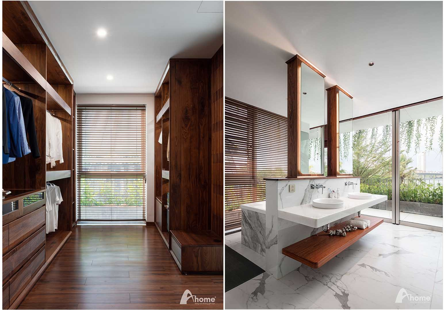 Phòng ngủ theo tiêu chuẩn Resort. Bài: Tiểu Yến. Ảnh: Nguyễn Thái Thạch