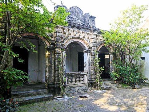 Nhà thương nhân người Hoa - phong cách kiến trúc Việt - Hoa – Pháp