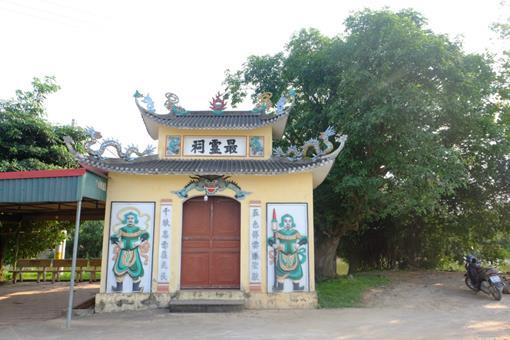 Miếu Bà – Nơi thờ Mẫu Liễu Hạnh