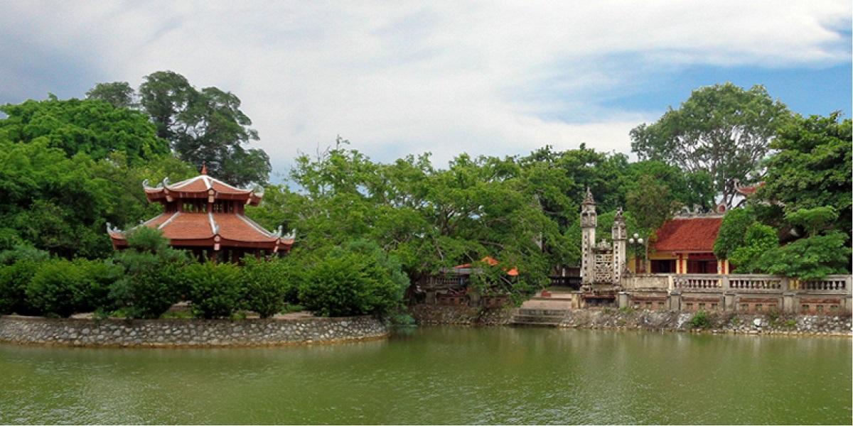 Quần thể đền thờ làng Phù Ủng (nguồn: Internet)