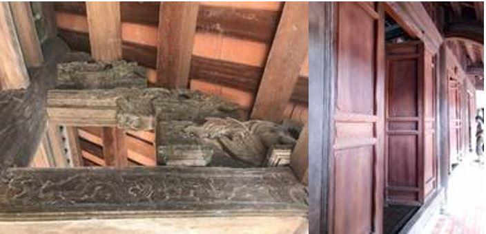 Vật liệu gỗ trong các chi tiết công trình