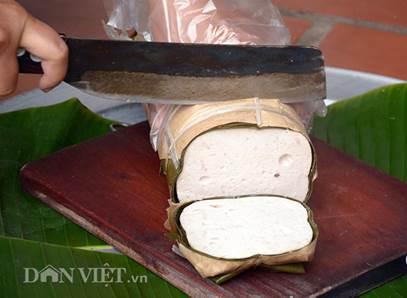 Thành phẩm giò truyền thống (Nguồn ảnh: danviet.vn)